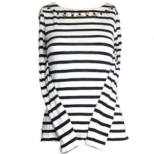 J.CREW Stripped long sleeve